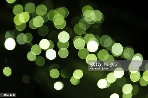 Flou vert pois