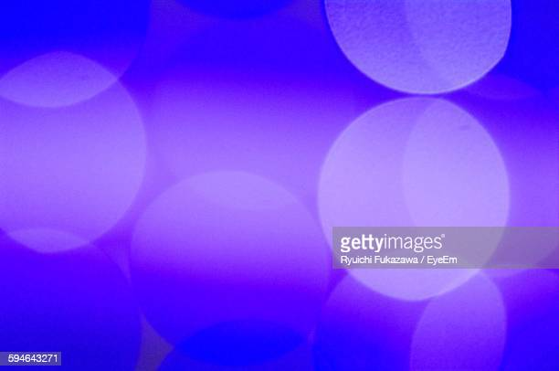 Defocused Image Of Purple Abstract Light Pattern