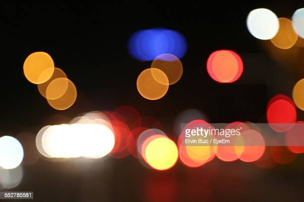 Defocused Image Of Spotlights