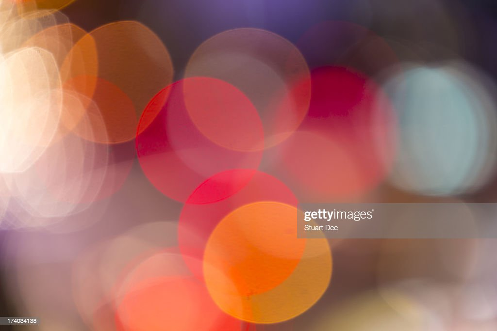 Defocused lights, Manila