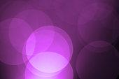 Defocused purple holiday light background