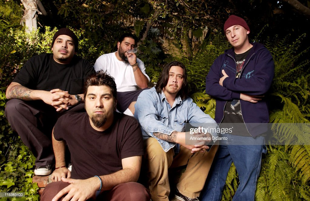 Deftones Photo Session On Location 2003