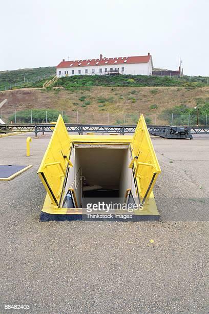 Defunct missile silo, Marin Headlands, California