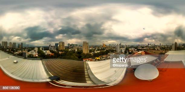 360 degree on the center of Polanco in Mexico City