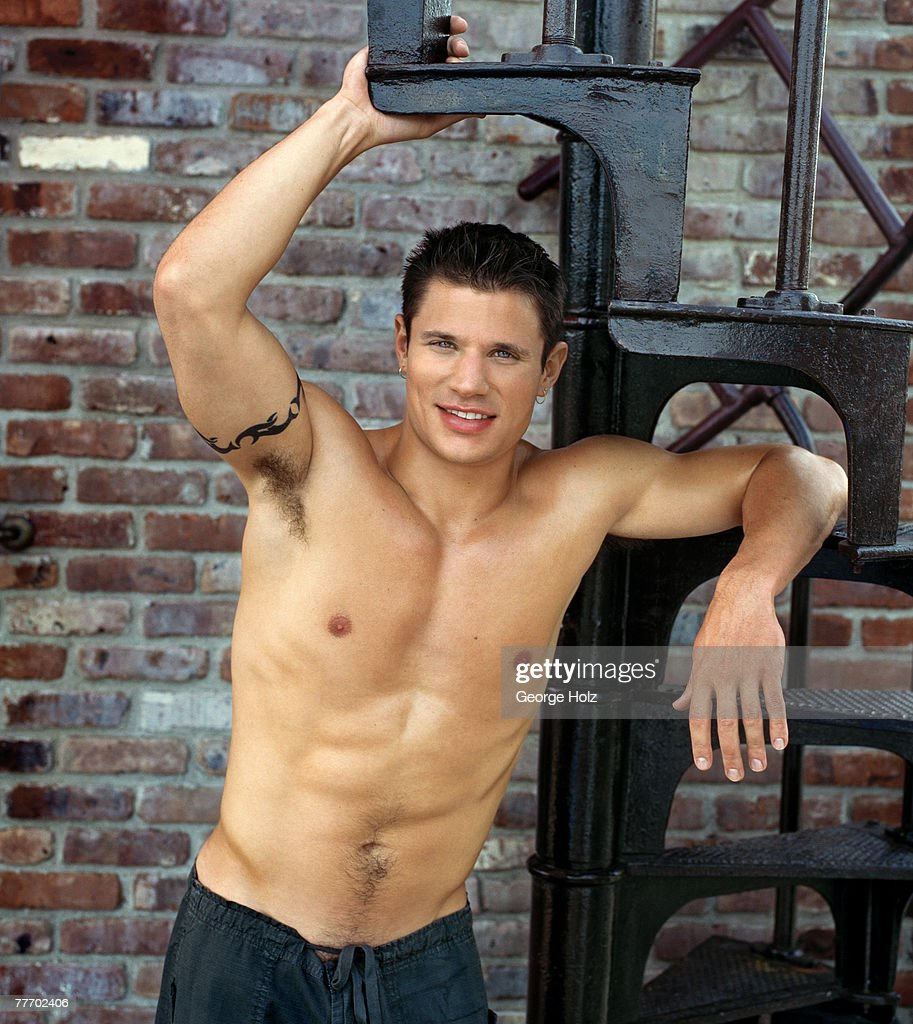 98 Degrees (Nick Lachey); 98 Degrees by George Holz; 98 Degrees, Teen People, September 1, 1999