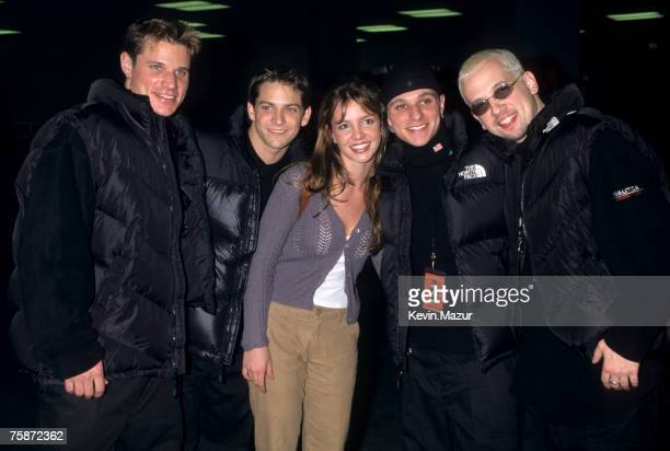 98 Degrees and Britney Spears