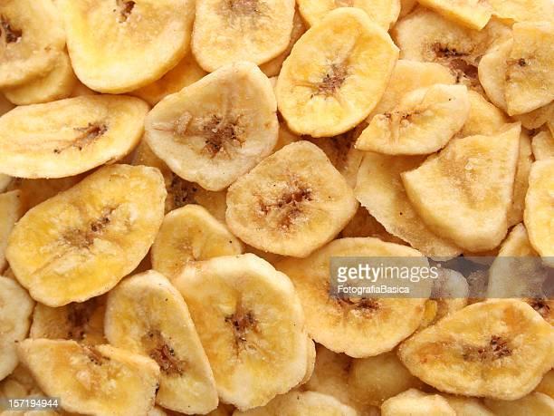 banana as refeições ligeiras desidratados