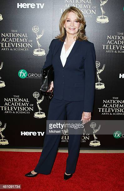 Deidre Hall arrives at the 41st Annual Daytime Emmy Awards held at The Beverly Hilton Hotel on June 22 2014 in Beverly Hills California