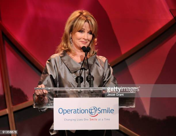 Deidre Hall attends the Operation Smile's 8th Annual Smile Gala at The Beverly Hilton Hotel on October 2 2009 in Beverly Hills California