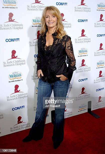 Deidre Hall during Runway For Life Benefiting St Jude Children's Research Hospital Arrivals at Beverly Hilton in Beverly Hills California United...
