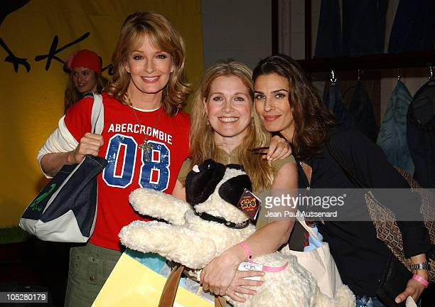Deidre Hall Melissa Reeves and Kristian Alfonso at Kasil Jeans