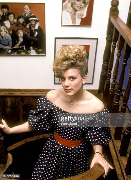 Deidre Hasselbert daughter of Loni Anderson during Deidre Hasselbert Portrait Session in her Mother Loni Anderson's Home March 8 1983 at Loni...