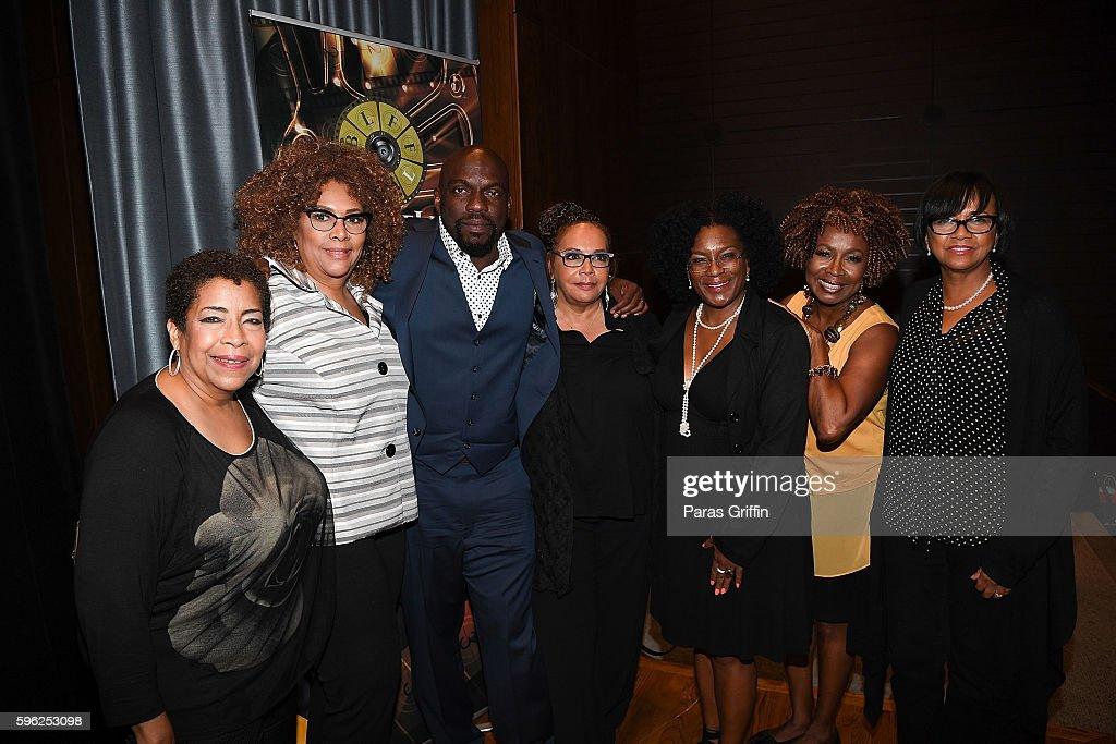 Deidre McDonald Julie Dash Omar Dorsey Neema Barnette Dawn Gilliam Kathleen J Bertrand and Cheryl Boone Isaacs attend 2016 BronzeLens Film Festival...