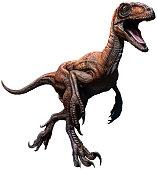 Deinonychus 3D illustration