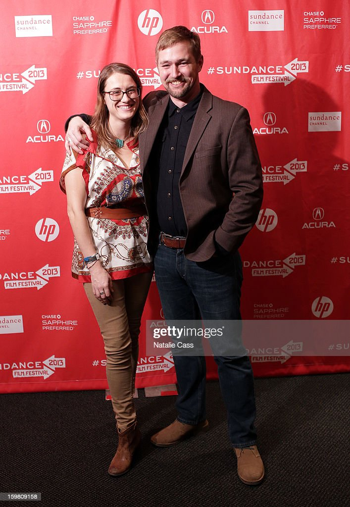 Deirdre Read and Lucian Read attend the '99% - The Occupy Wall Street Collaborative Film' premiere at Egyptian Theatre during the 2013 Sundance Film Festival on January 20, 2013 in Park City, Utah.