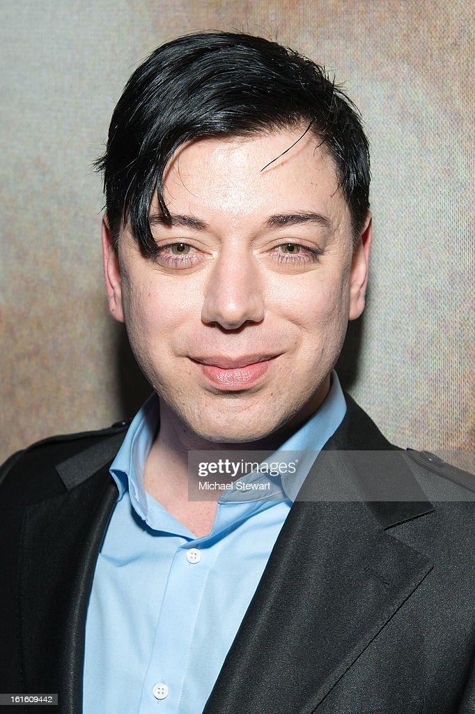 Deisnger Malan Breton attends the BlackBook Fashion Week celebration at Toy on February 12, 2013 in New York City.