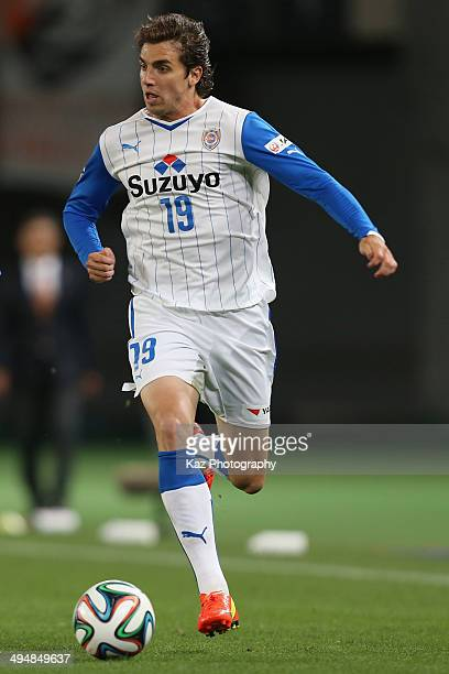 Dejan Jakovic of Shimizu SPulse in action during the JLeague Yamazaki Nabisco Cup Group A match between FC Tokyo and Shimizu SPulse ant Ajinomoto...