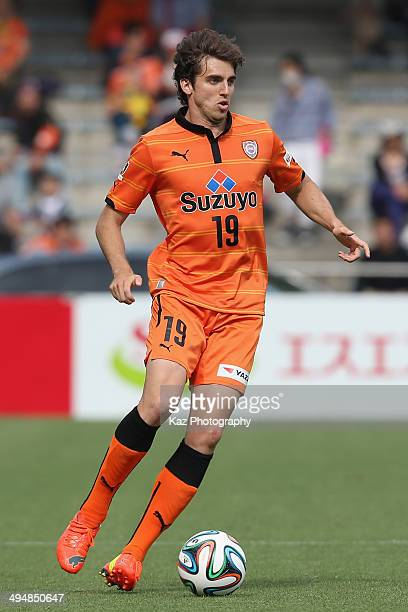 Dejan Jakovic of Shimizu SPulse in action during the JLeague Yamazaki Nabisco Cup Group A match between Shimizu SPulse and Vissel Kobe at IAI Stadium...