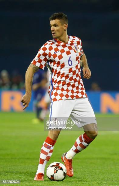 Dejan Lovren of Croatia during the FIFA 2018 World Cup Qualifier PlayOff First Leg between Croatia and Greece at Stadion Maksimir on November 9 2017...