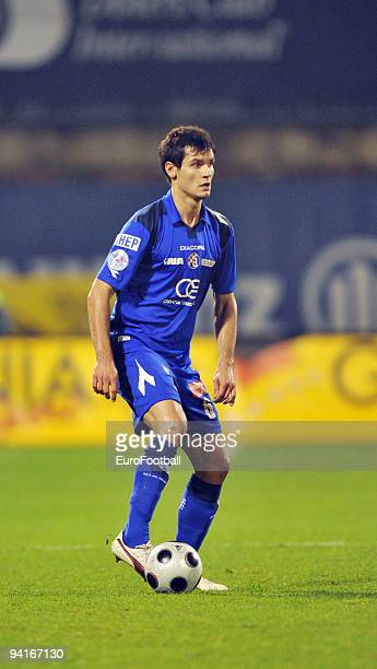 Dejan Lovren of NK Dinamo Zagreb during the TCom Prva HNL match between NK Dinamo Zagreb and HNK Cibalia held on October 25 2009 at the Stadion...