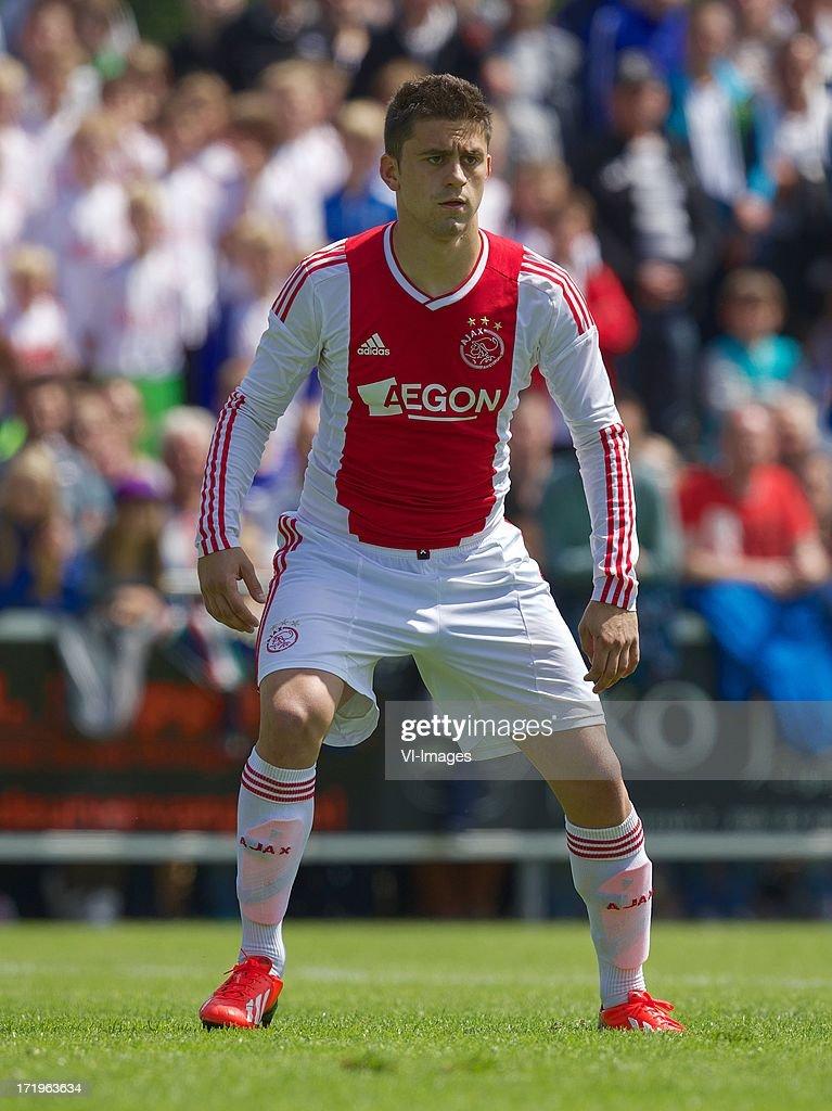 Dejan Meleg of Ajax during the pre season friendly match between SDC Putten and Ajax on June 29, 2013 in Putten, The Netherlands.