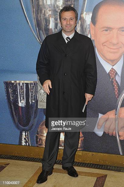 Dejan Savicevic attends AC Milan Marks 25th Anniversary Of Berlusconi's Presidency Party Arrivals at Teatro Manzoni on March 13 2011 in Milan Italy