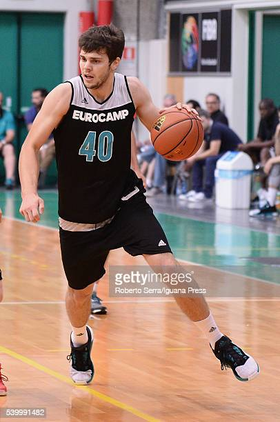 Dejan Todorovic in action during Adidas Eurocamp Day Three at La Ghirada sports center on June 12 2016 in Treviso Italy