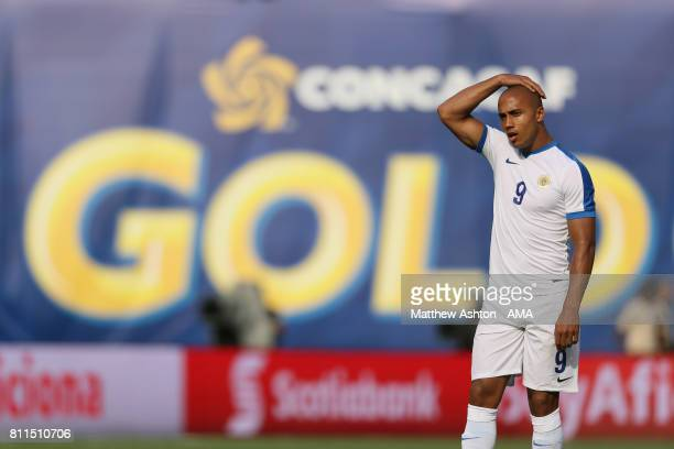 A dejected Gino van Kessel of Curacao during the 2017 CONCACAF Gold Cup Group C match between Curacao and Jamaica at Qualcomm Stadium on July 9 2017...