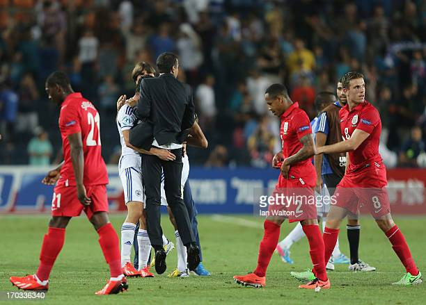 A dejected Jordan Henderson of England after UEFA European U21 Championships Group A match between Israel and England at Teddy Stadium on June 11...