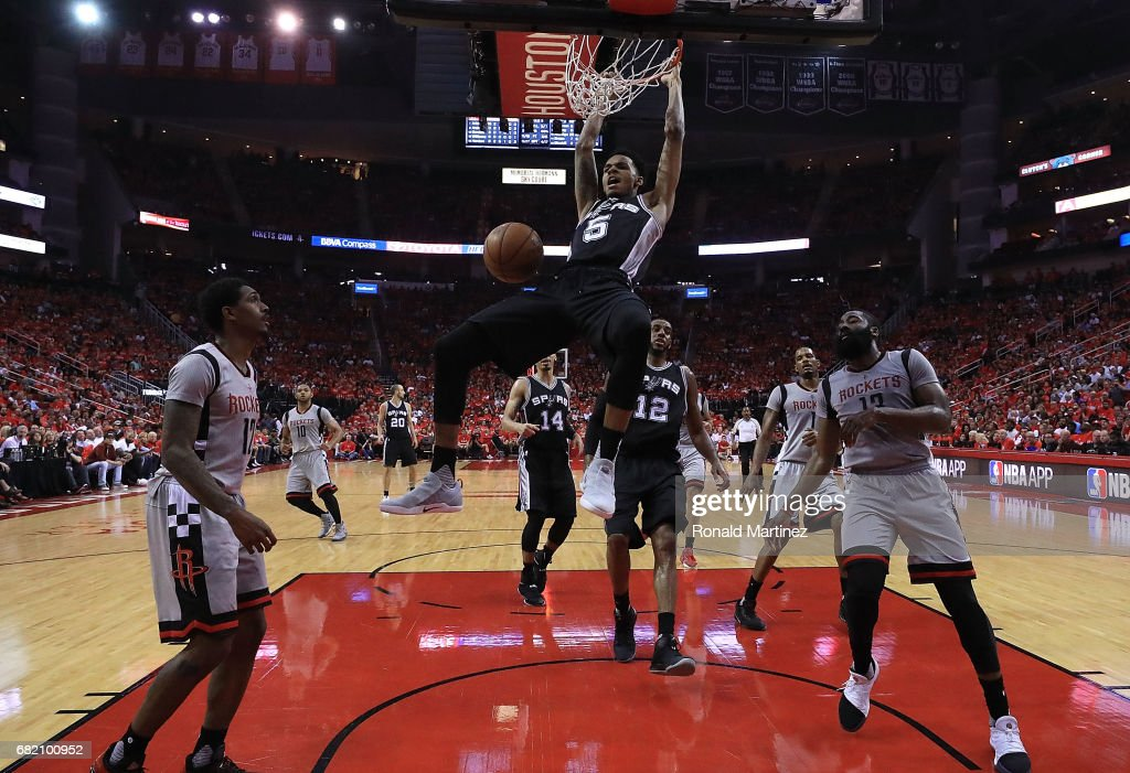 San Antonio Spurs v Houston Rockets - Game Six