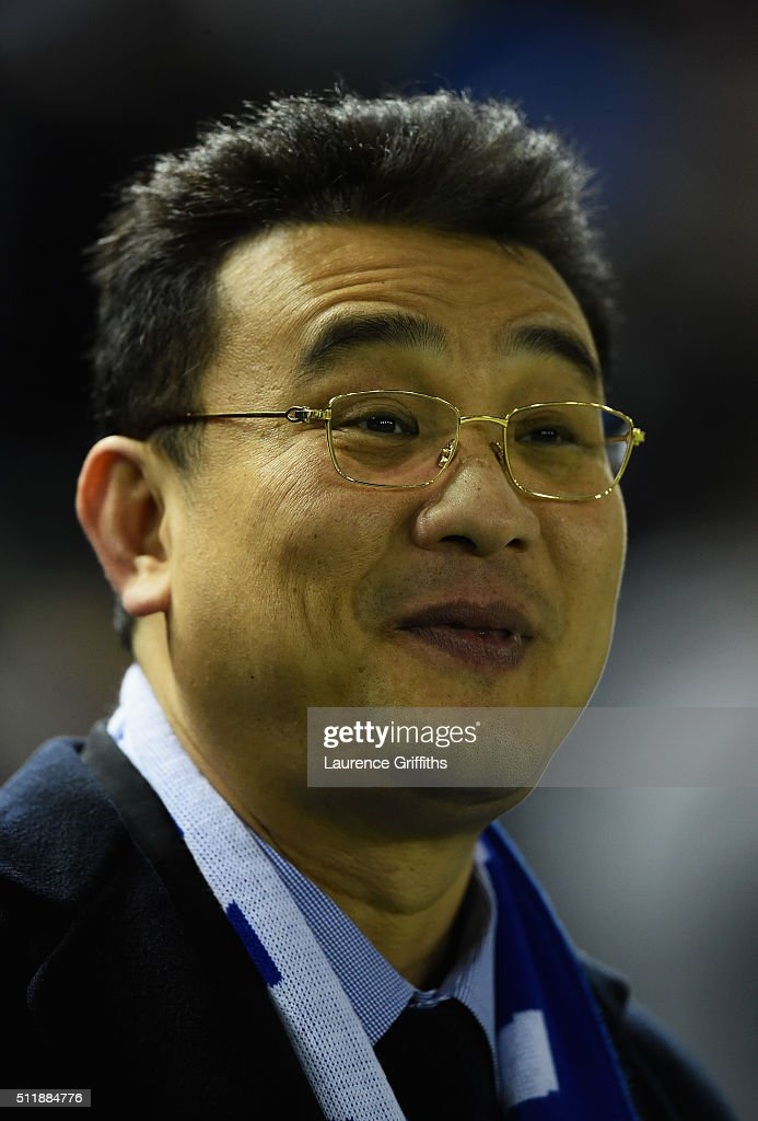 Dejphon Chansiri Chairman of Sheffield Wednesday looks on during the Sky Bet Championship match between Sheffield Wednesday and Queens Park Rangers at Hillsborough on February 23, 2016 in Sheffield, United Kingdom.