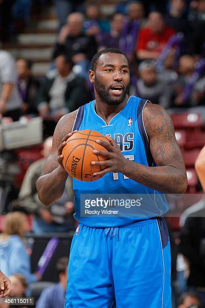 Dejuan Blair of the Dallas Mavericks handles the ball against the Sacramento Kings on December 9 2013 at Sleep Train Arena in Sacramento California...