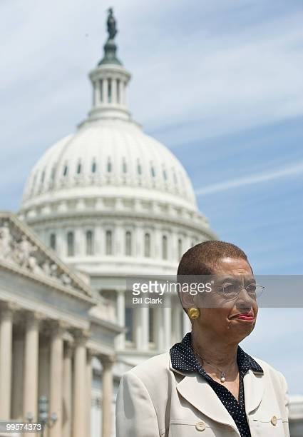 Del Eleanor Holmes Norton DDC participates in a news conference at the Capitol on national HIV testing on Thursday June 25 2009