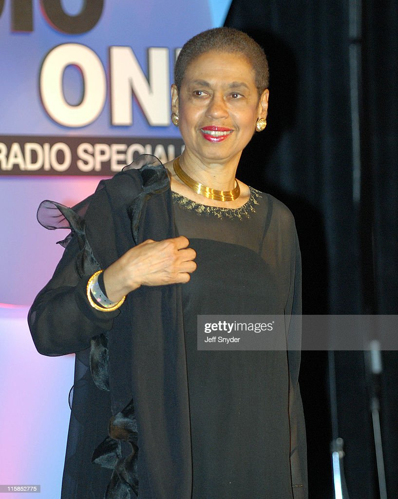 Del. Eleanor Holmes Norton of Washington, DC at the Radio One 25th Anniversary Celebration.