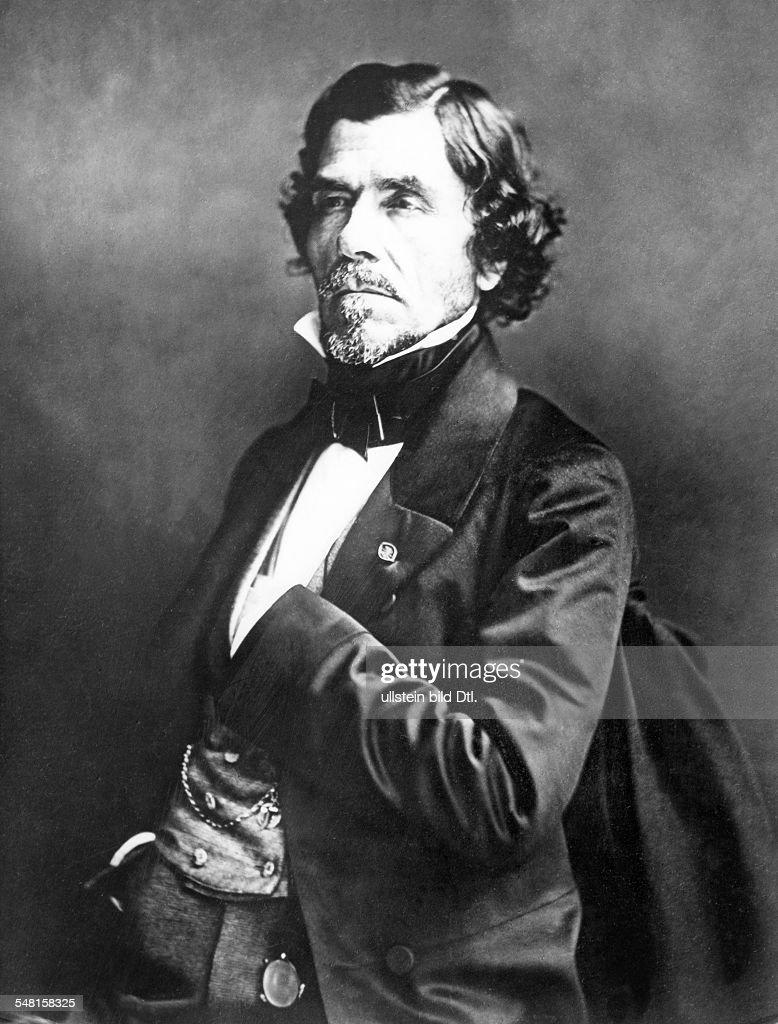 Delacroix, Eugene - *26.04.1798-13.08.1863+ - Bildender Kuenstler, Maler, Frankreich - Portrait - Aufnahme von Nadar
