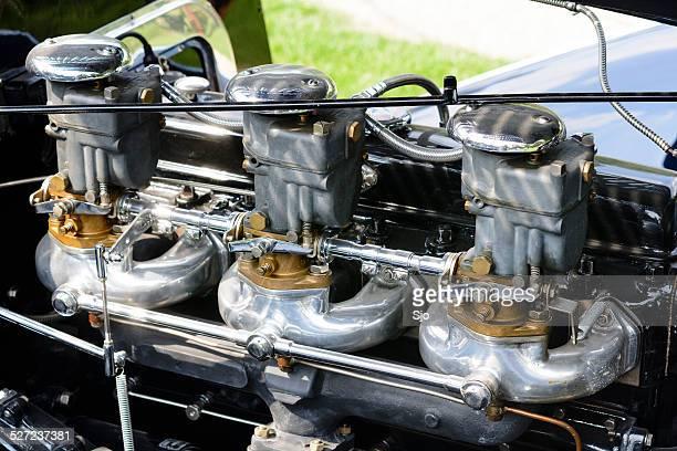 Delahaye 135 M Torpedo engine