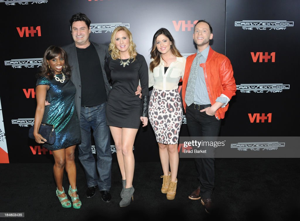 Delania Dixon, Rob Shuter, Marianne Garvey, Chloe Melas, and Noah Levy attend the CrazySexyCool Premiere Event at AMC Loews Lincoln Square 13 theater on October 15, 2013 in New York City.