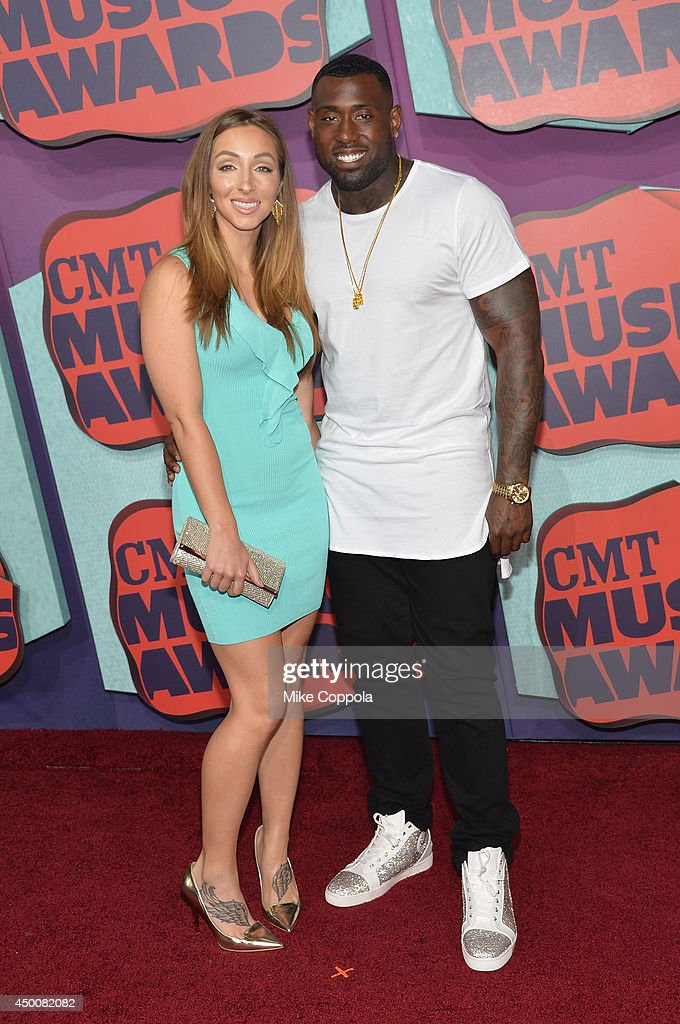Delanie Walker attends the 2014 CMT Music awards at the Bridgestone Arena on June 4 2014 in Nashville Tennessee