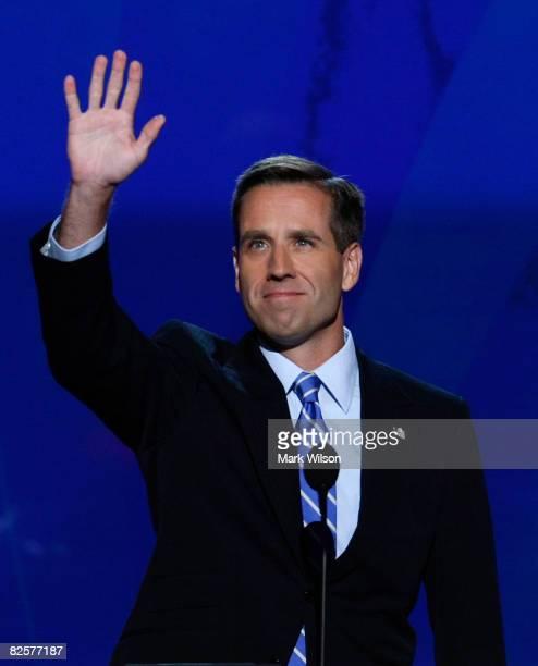 Delaware Attorney General Beau Biden son of US Democratic vice presidential nominee Sen Joe Biden walks on stage during day three of the Democratic...