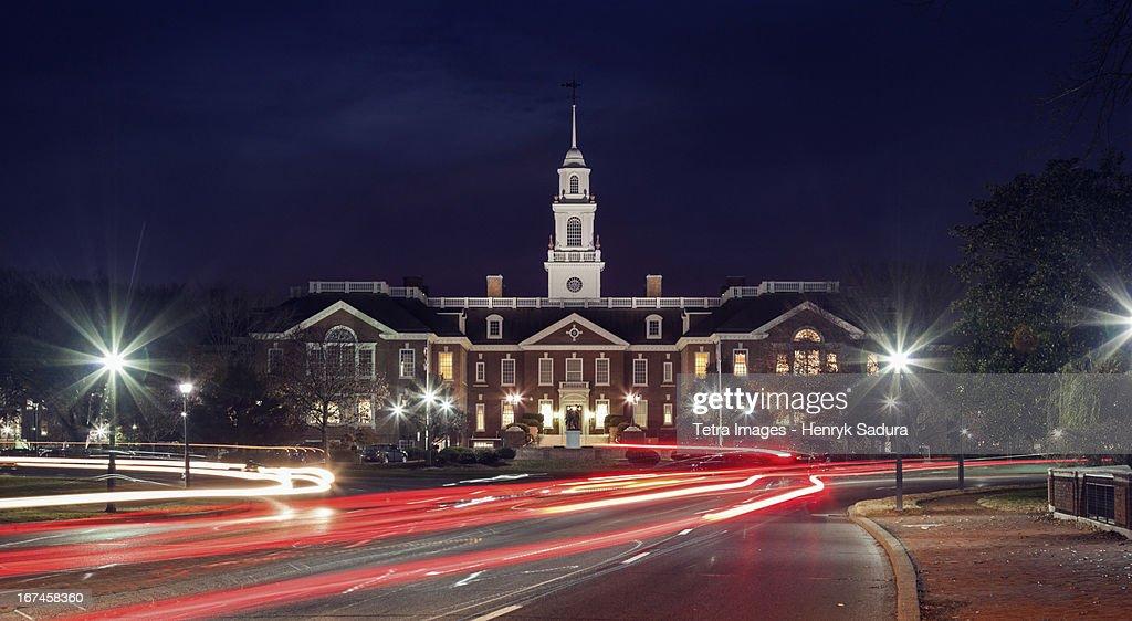 USA, Delaware, Dover, State Capitol Building : Stock Photo