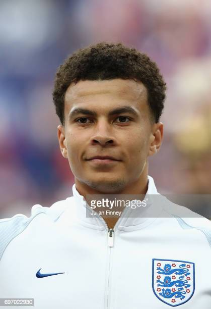 Dele Alli of England looks on before the International friendly match between France and England at Stade de France on June 13 2017 in Paris France