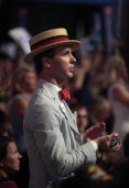 A delegate applauds at the Republican National Convention in Tampa Florida US on Thursday Aug 30 2012 Republican presidential nominee Mitt Romney a...