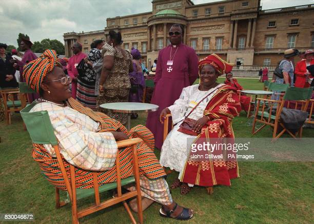 Delegates Mabel Agbaje and Grace Omoyajowo both from Nigeria join other members of the Lambeth Conference the tenyearly meeting of 700 bishops from...