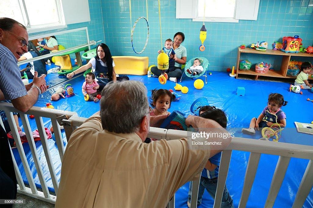 dfb delegation visits casa de cuna