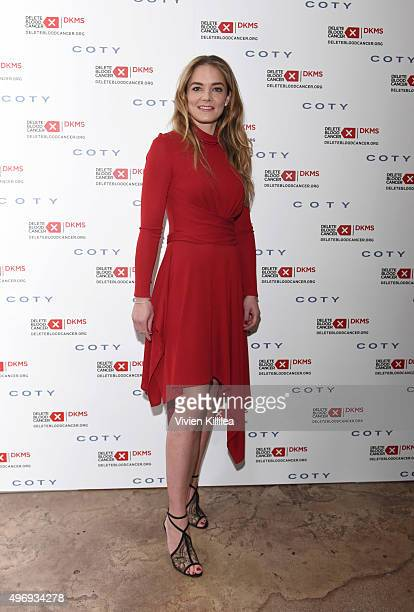 Delete Blood Cancer Cofounder Katharina Harf attends the Delete Blood Cancer DKMS Dinner at Terrine on November 12 2015 in Los Angeles California
