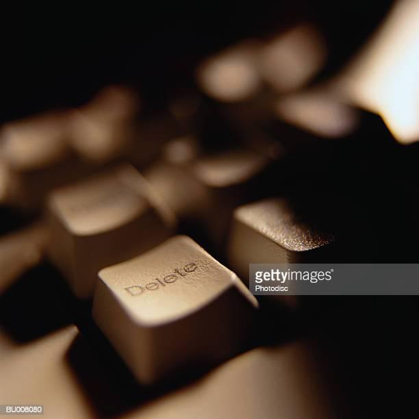 Delete Key on Computer Keyboard