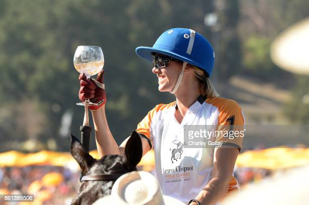 Delfina Blaquier at the Eighth Annual Veuve Clicquot Polo Classic on October 14 2017 in Los Angeles California