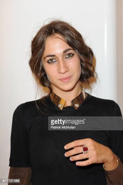 Delfina Delettrez attends Carlos Miele and Vogue Italia Celebrate Limited Edition of TShirts Designed by Lapo Elkann and Bianca Brandolini CONTACT...