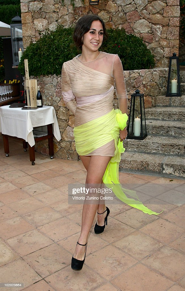 Delfina Delettrez Fendi attends chapter 2 of Il Pellicano 'Globetrotters Reunion' held at Il Pellicano Hotel on June 12 2010 in Porto Ercole Italy