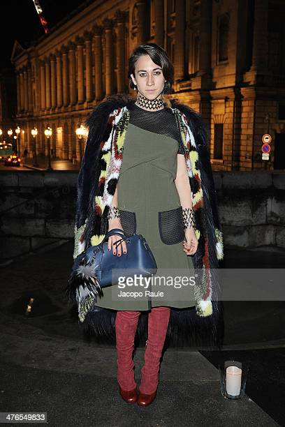 Delfina Delettrez Fendi attends Gaia Repossi's Jewelry Collection At Jeu de Paume as part of the Paris Fashion Week Womenswear Fall/Winter 20142015...